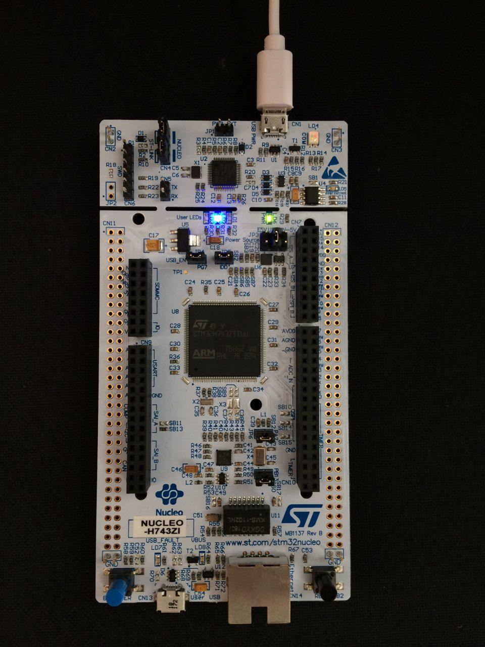 Embedded programming with the STM32